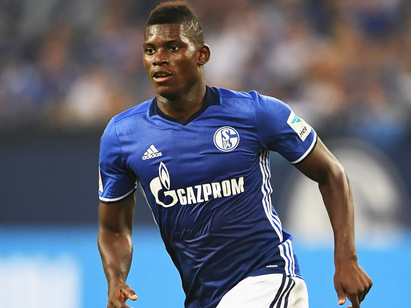 Breel Embolo in action for FC Schalke. (Getty Images)
