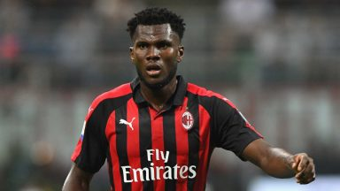 Franck Kessie in action for AC Milan. (Getty Images)