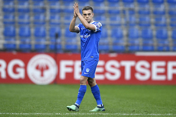 Brighton winger Leandro Trossard during his playing days at Genk.