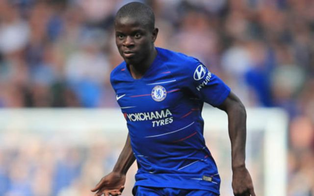 N'Golo Kante in action for Chelsea. (Getty Images)