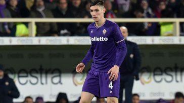 Nikola Milenkovic in action for Fiorentina. (Getty Images)