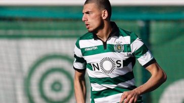 Merih Demiral during his time at Sporting Lisbon. (Getty Images)