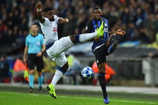 Full-back Serge Aurier has failed to impress since arriving two years back.