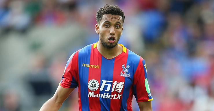 Crystal Palace player Jairo Riedewald.