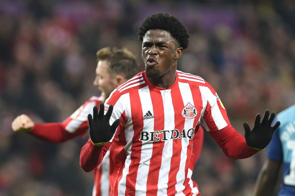 Josh Maja during his time at Sunderland. (Getty Images)