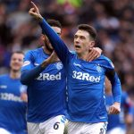 Rangers' Ryan Jack celebrating a goal. (Getty Images)