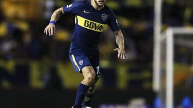 Nahitan Nandez in action for Boca Juniors. (Getty Images)