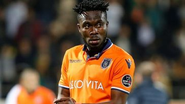 Istanbul Basaksehir defender Joseph Attamah in action. (Getty Images)