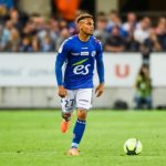 Strasbourg right-back Kenny Lala in action. (Getty Images)