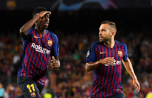 Ousmane Dembele (L) (Getty Images)