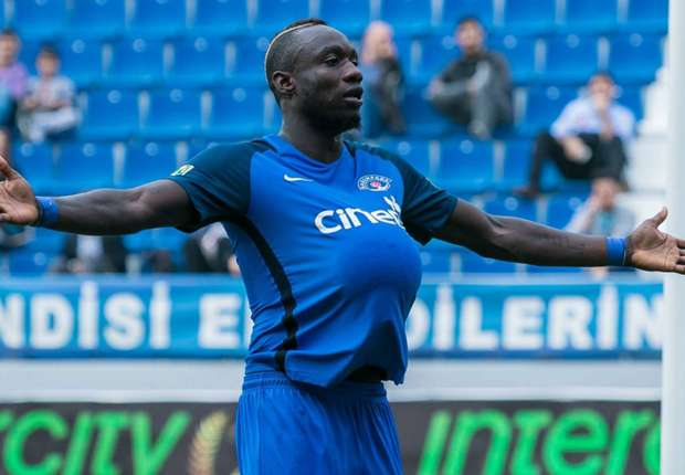 Mbaye Diagne is currently on loan at Club Brugge from Galatasaray. (Getty Images)