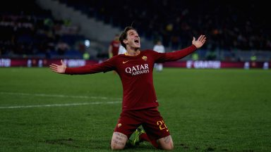 AS Roma's Nicolo Zaniolo is one of Europe's most promising attacking talents. (Getty Images)