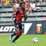 Christian Kouame has impressed for Genoa since joining in 2018. (Getty Images)