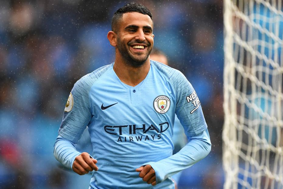 Riyad Mahrez has looked in good touch this season for City.