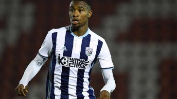 West Brom midfielder Rekeem Harper in action. (Getty Images)