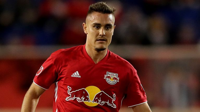 New York Red Bulls centre-back Aaron Long.