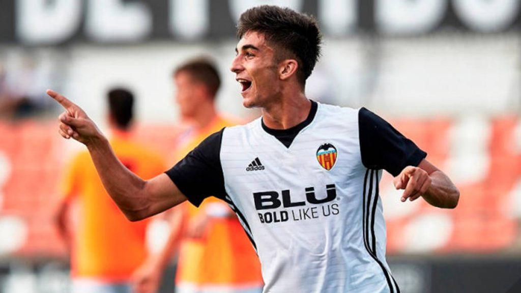 Valencia winger Ferran Torres.