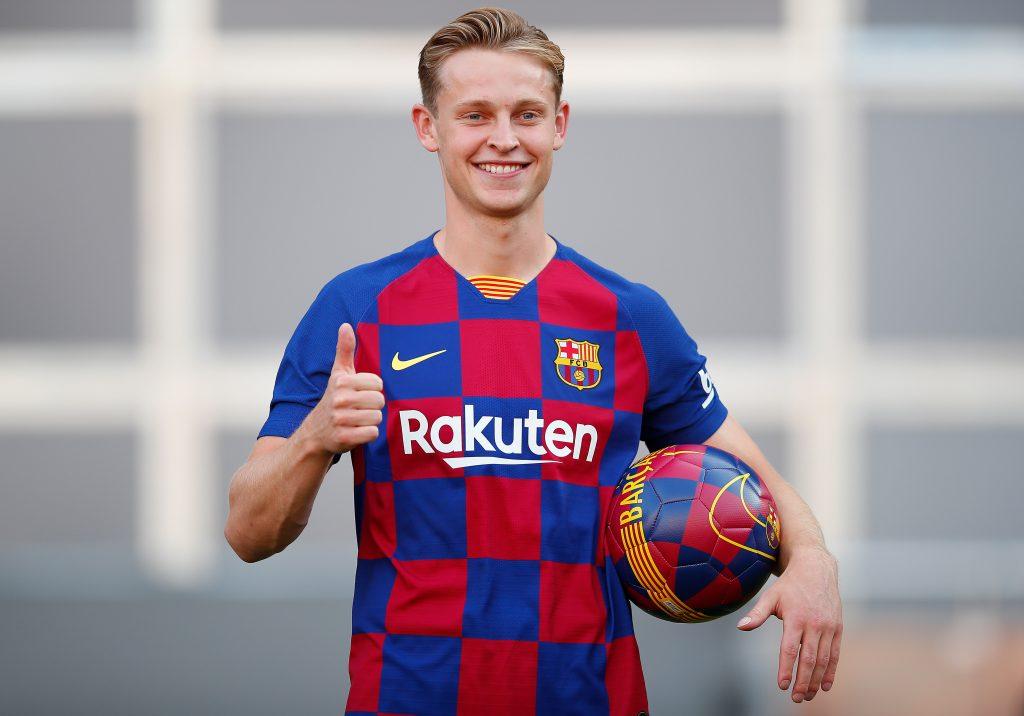 New Barcelona signing Frenkie de Jong