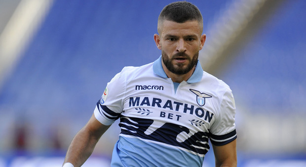 Valon Berisha in action for Lazio. (Getty Images)