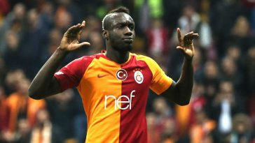 Mbaye Diagne in action for Galatasaray. (Getty Images)