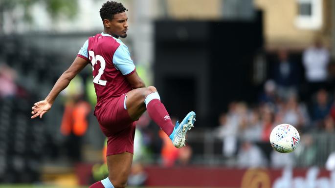 Sebastien Haller in action for West Ham. (Getty Images)
