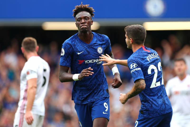 Tammy Abraham of Chelsea.