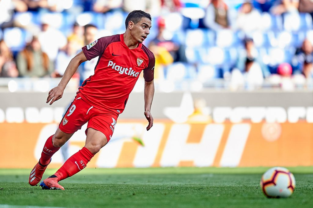 Wissam Ben Yedder in action for Sevilla. (Getty Images)