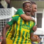 Grady Diangana is enjoying his time on loan at West Brom. (Getty Images)