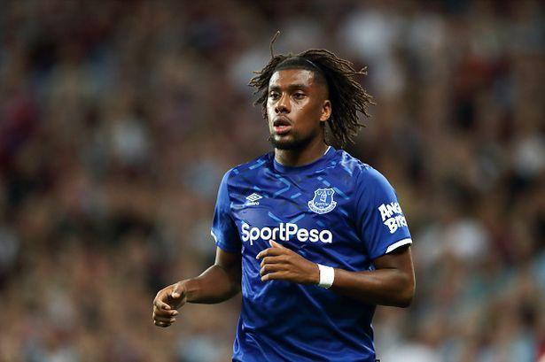 Everton's summer signing Alex Iwobi.
