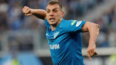 Artem Dzyuba is in red-hot form for Zenit since the start of the 2019/20 season. (Getty Images)