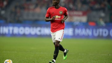 Manchester United defender Eric Bailly in action. (Getty Images)