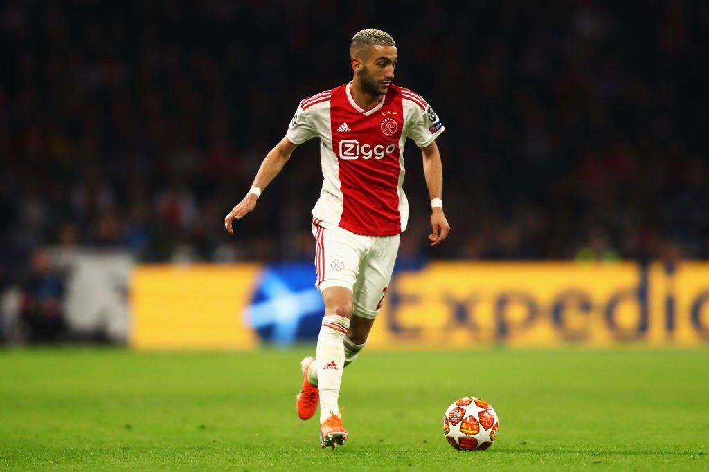 Ajax playmaker Hakim Ziyech in action. (Getty Images)