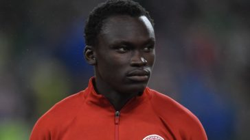 Pione Sisto during his time at FC Midtyjlland. (Getty Images)