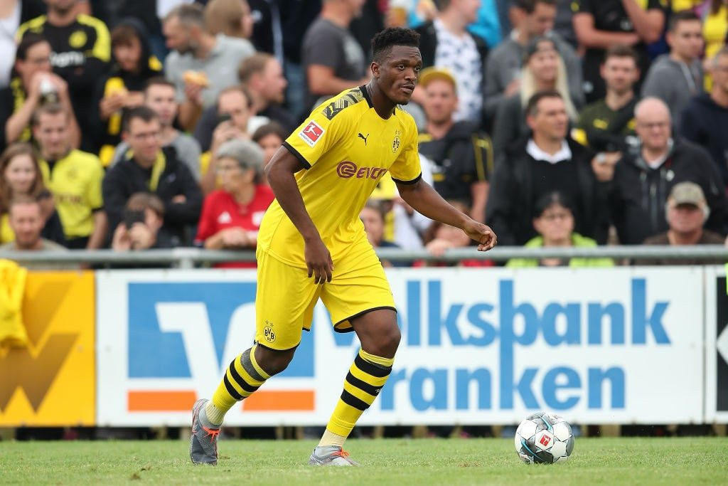 Borussia Dortmund Dan-Axel Zagadou hasn't played much this season. (Getty Images)