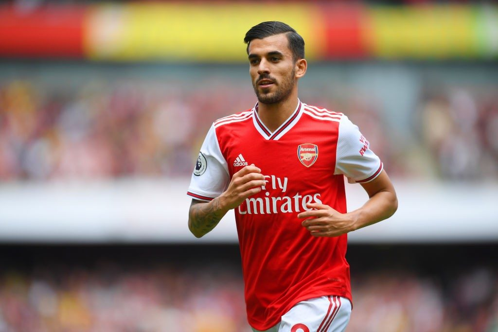 Midfielder Dani Ceballos arrived at Arsenal this summer from Real Madrid for a loan.
