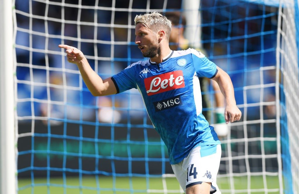 Dries Mertens has been a prolific goalscorer for Napoli over the last few seasons. (Getty Images)