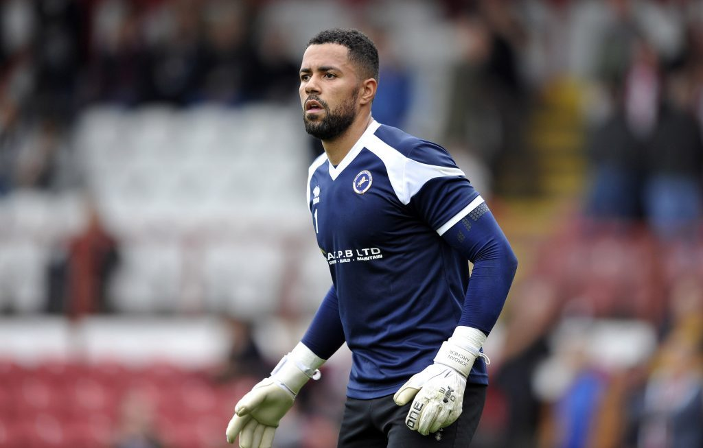 Jordan Archer in action for Millwall. (Getty Images)
