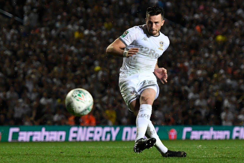 Manchester City on-loan winger Jack Harrison in action for Leeds. (Getty Images)