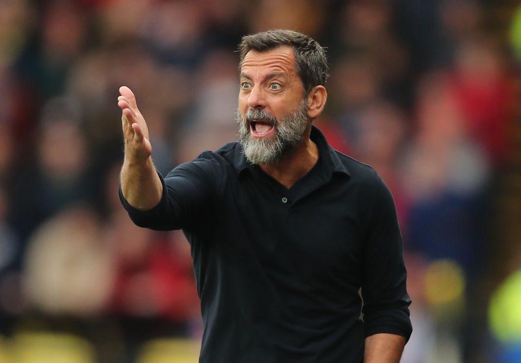 Watford boss Quique Sanchez Flores.