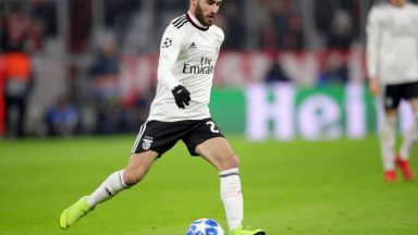 Rafa Silva in action for Benfica. (Getty Images)