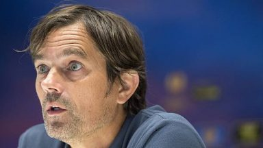 Derby County coach Phillip Cocu. (Getty Images)