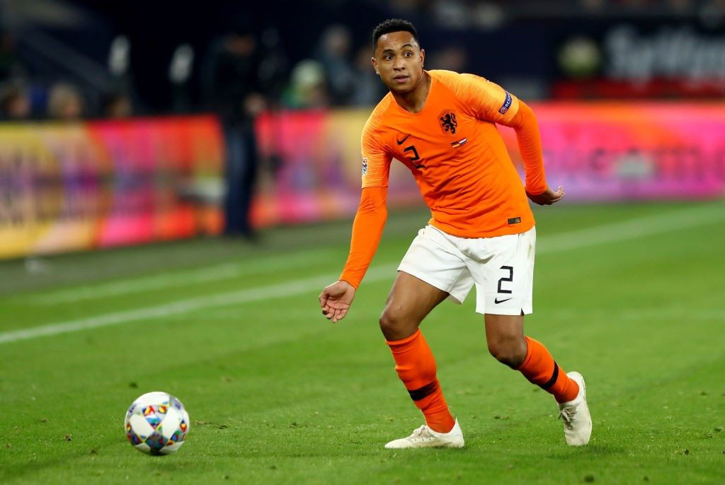 Kenny Tete in action for the Netherlands. (Getty Images)