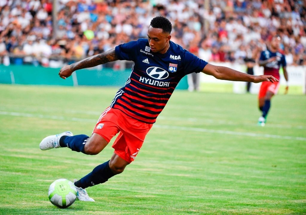 Lyon full-back Kenny Tete in action. (Getty Images)