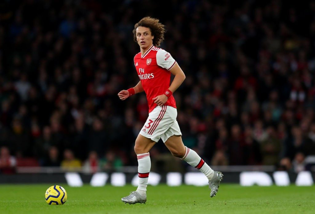 Arsenal's summer signing David Luiz.