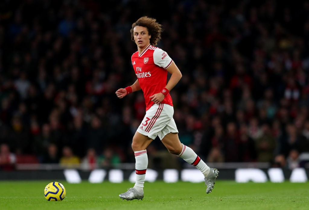 David Luiz has not been in the best of forms since arriving at Arsenal in the summer.