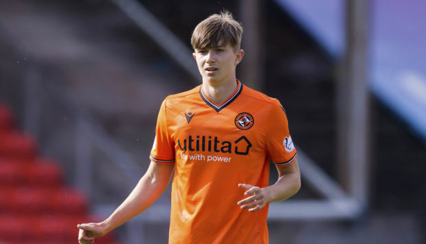 Scott Banks in action for Dundee United
