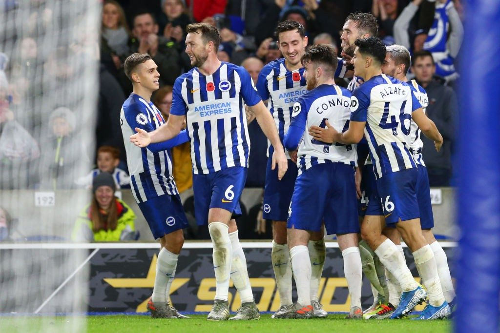 Brighton have won their last two matches and would be looking for a third straight win when they face Manchester United on Sunday.