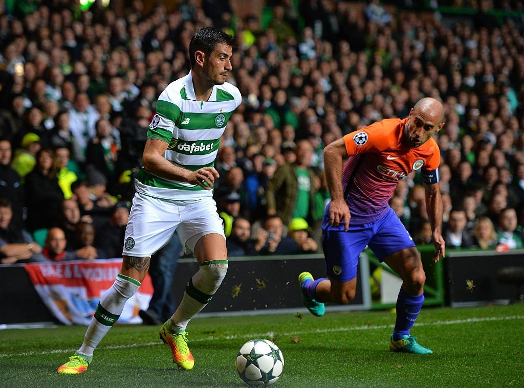Nir Bitton in action against Manchester City.