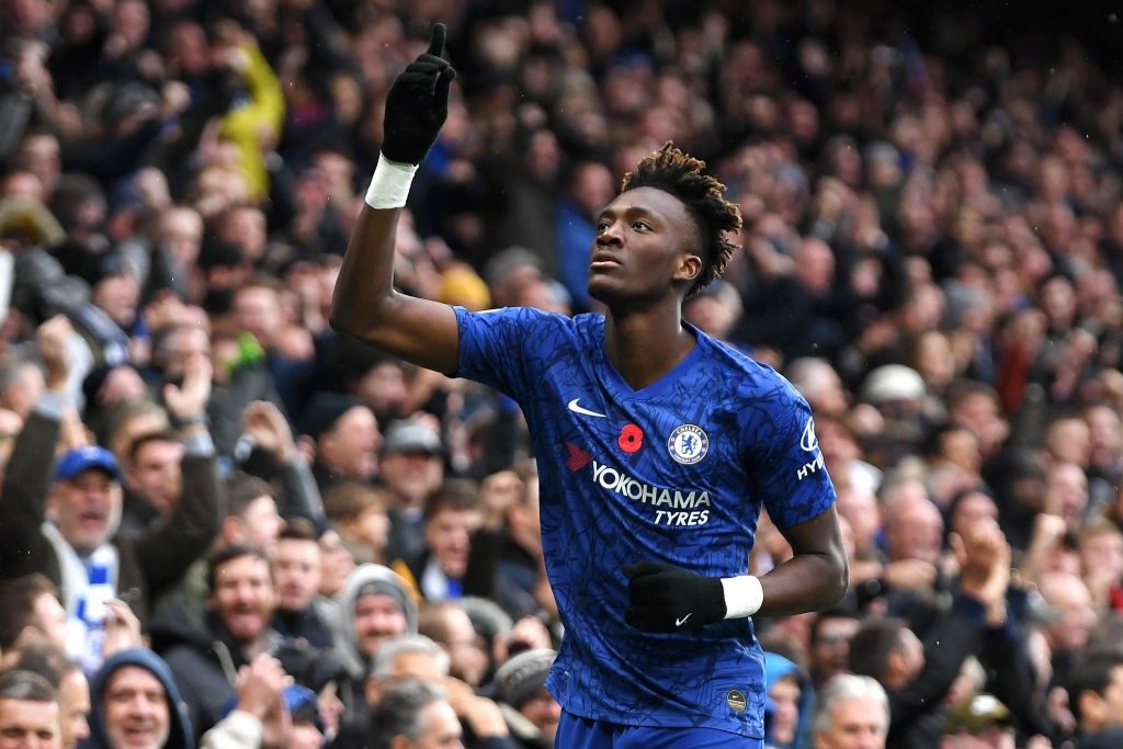 Chelsea striker Tammy Abraham is just 22-years old.