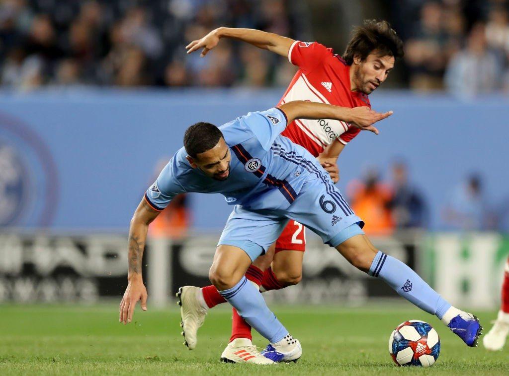 Gaitan against New York City FC.